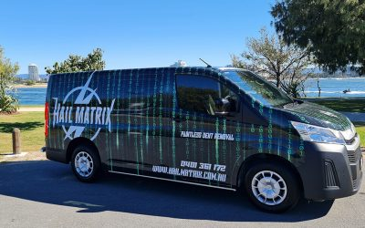 Hail Matrix Dent Repair is now Mobile across SE QLD